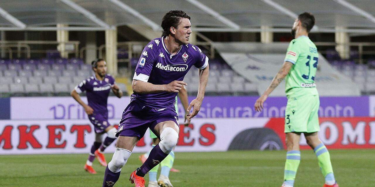"""Vlahovic resta alla Fiorentina: """"A disposizione di mister Italiano"""" (Getty Images)"""