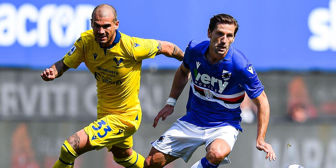 Sampdoria: 25 convocati, niente derby per Adrien Silva (Getty Images)