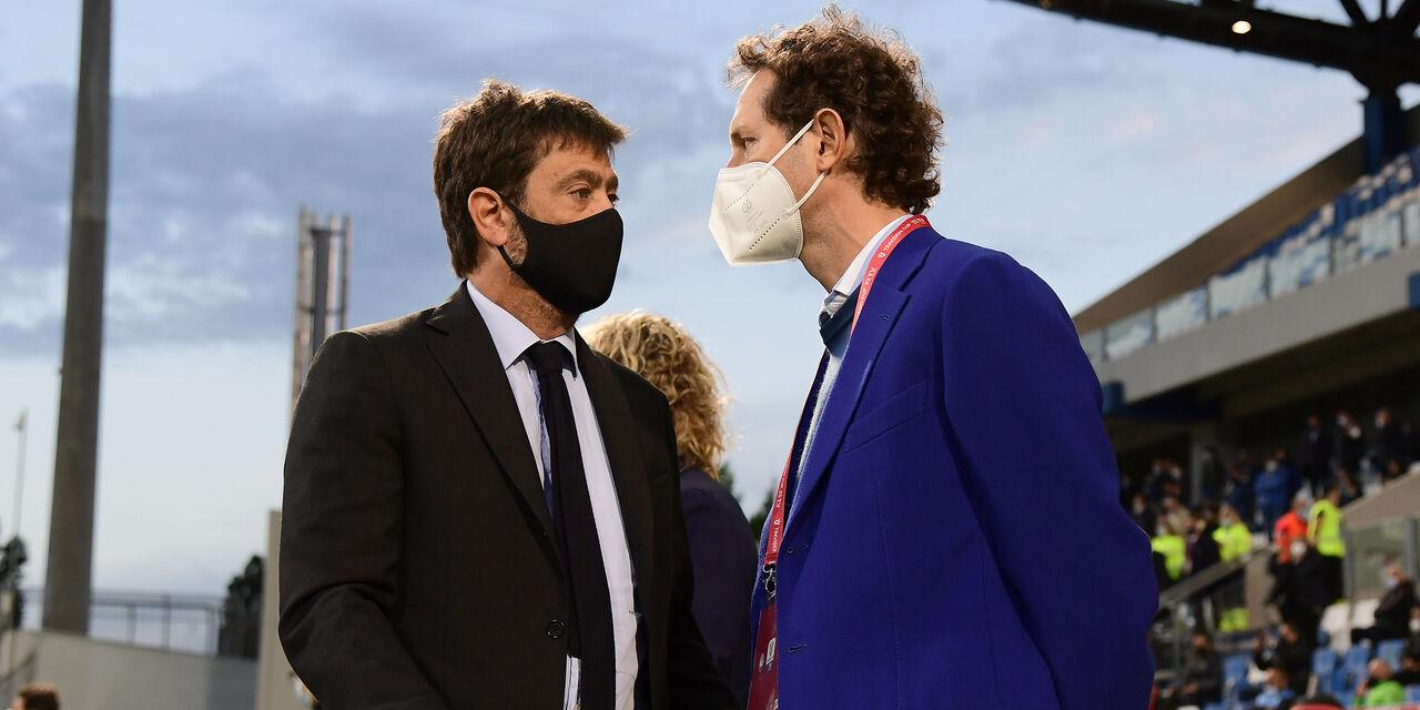 Andrea Agnelli e John Elkann (Getty Images)