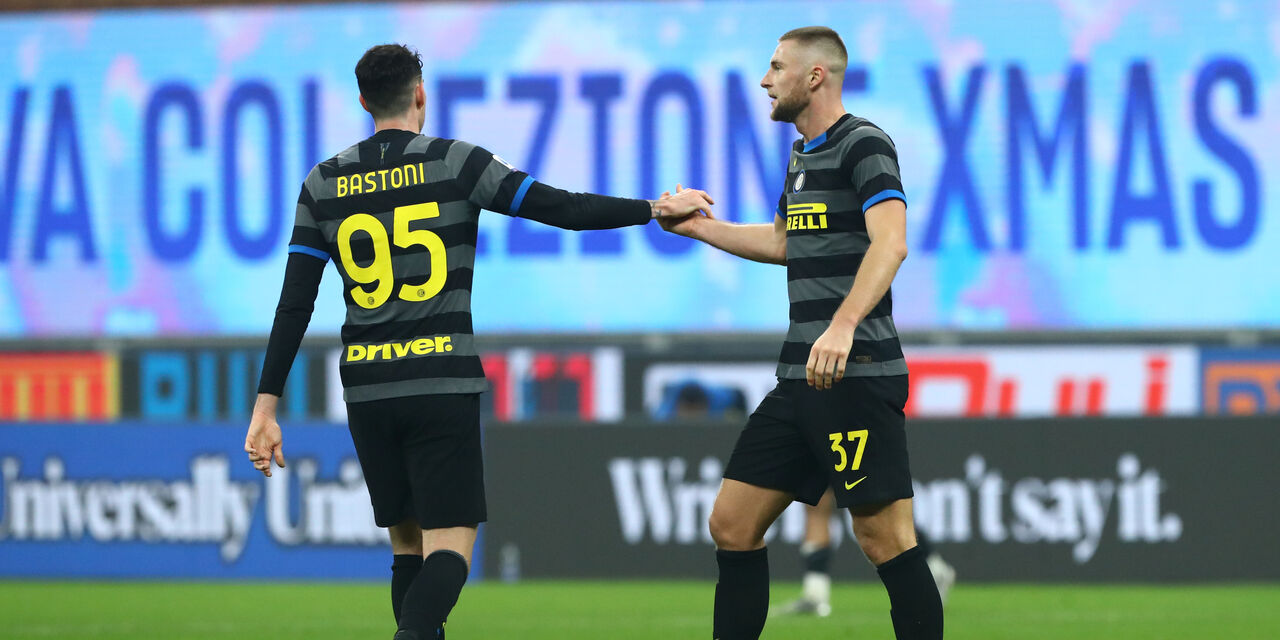 Alessandro Bastoni e Milan Skriniar (Getty Images)