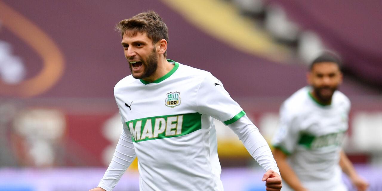 """Euforia Berardi dopo il gol alla Sampdoria: """"Forse la mia stagione migliore"""" (Getty Images)"""