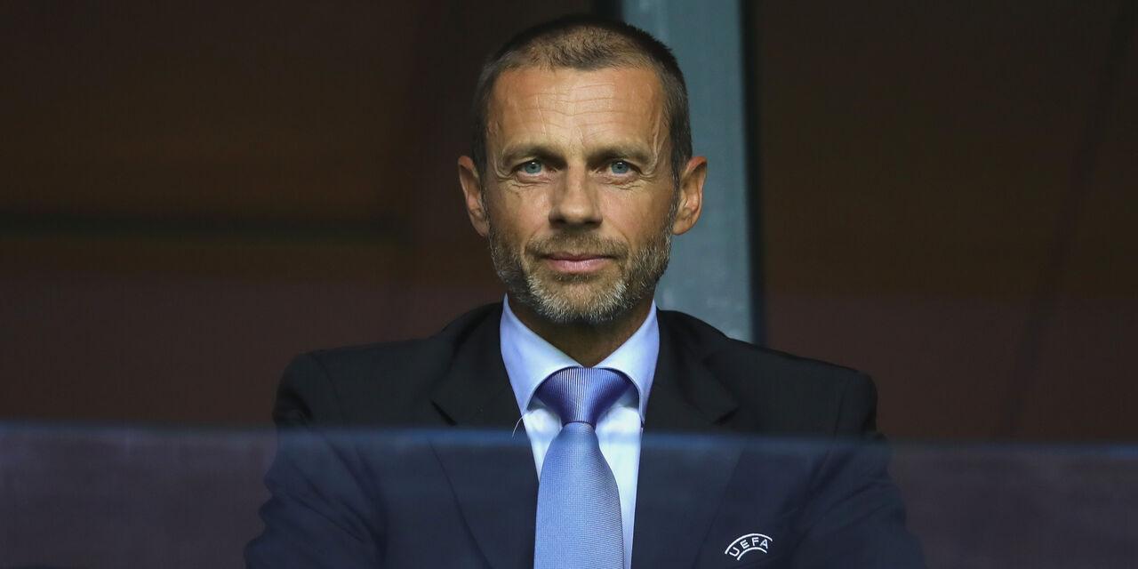 """Ceferin, stoccata ad Agnelli: """"Al Khelaifi buon capitano, il vecchio è scappato via"""" (Getty Images)"""