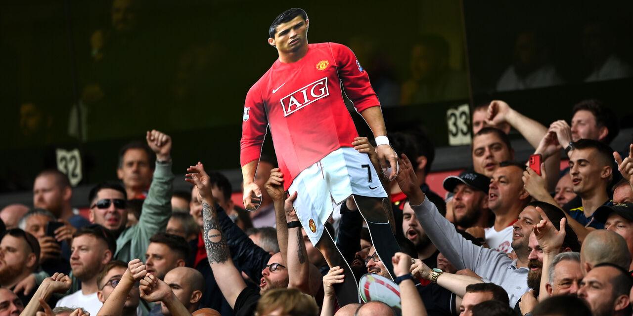 Cristiano Ronaldo - tifosi del Manchester United (Getty Images)
