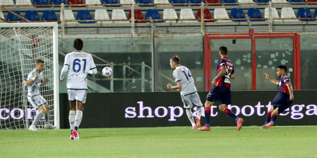 Crotone-Verona 2-1: cronaca, tabellino e voti del fantacalcio (Getty Images)