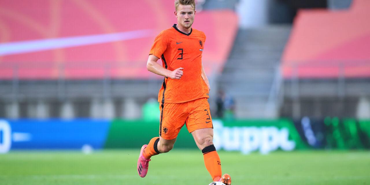 """Euro2020, De Ligt: """"Olanda fuori per colpa mia"""" (Getty Images)"""
