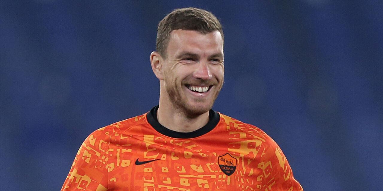 """Roma, nessuna lesione per Dzeko: """"Sono pronto per giocare"""" (Getty Images)"""
