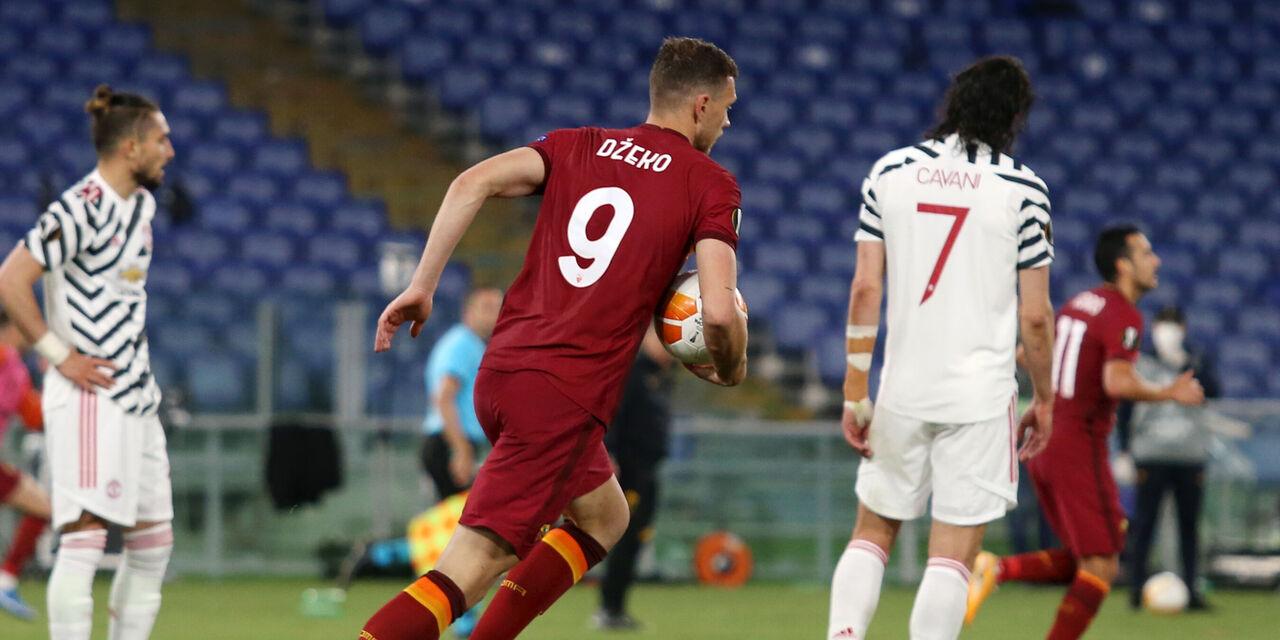 Europa League, Roma-Manchester United 3-2: cronaca e tabellino (Getty Images)