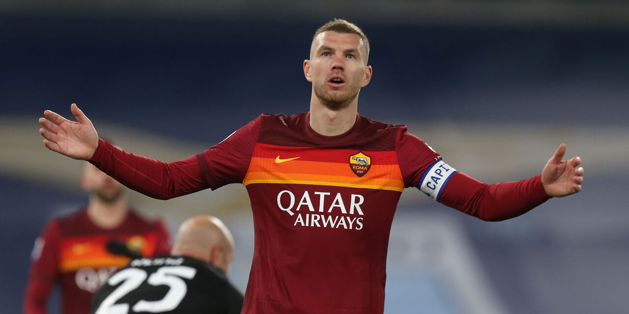 Dzeko rigorista horror: -3 in metà dei rigori calciati in Serie A (Getty Images)