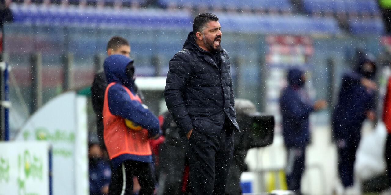 """Napoli-Empoli, Gattuso: """"Soffrire è normale. Osimhen si sente meglio"""" (Getty Images)"""
