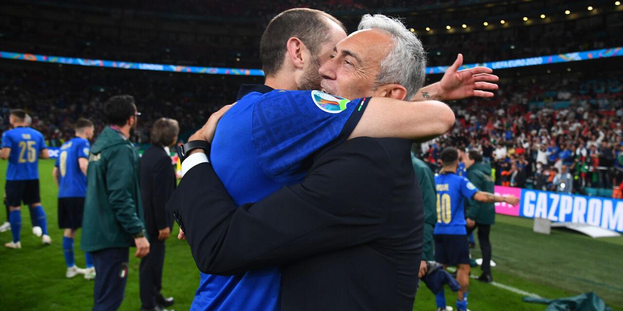 """Euro 2020, l\'emozione di Gravina: """"Questa Italia resterà nella storia"""" (Getty Images)"""