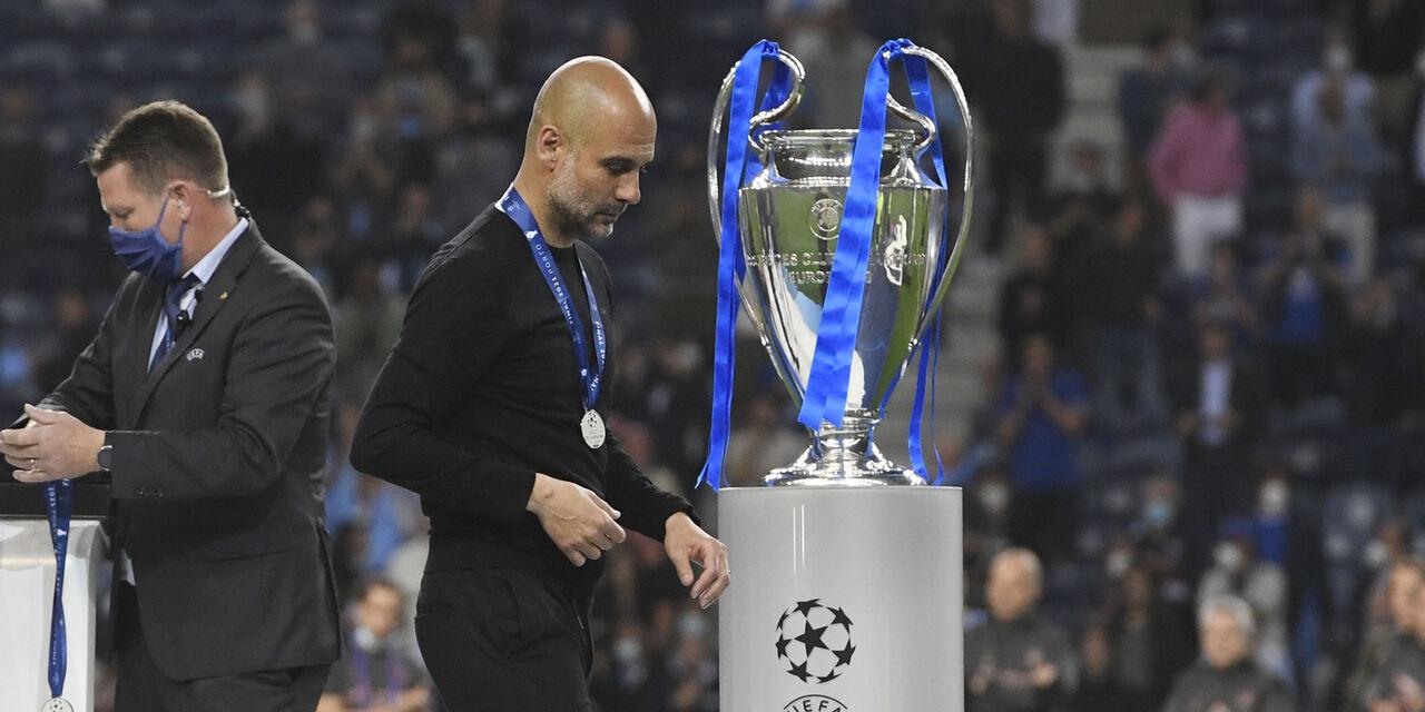 """Champions, Guardiola: """"Un onore aver giocato la finale. E sulle scelte..."""" (Getty Images)"""