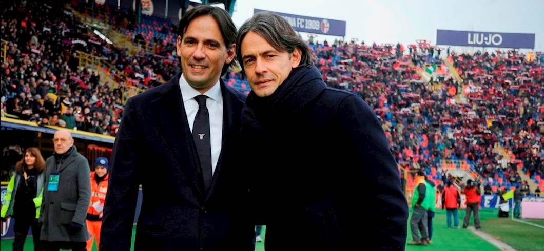 Inzaghi, giornata pigliatutto: Simone primo in Serie A, Filippo primissimo  in B