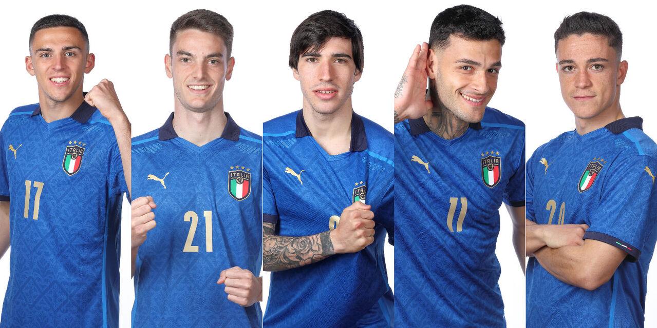 Alcuni dei volti dell\'Italia che parteciperà ai Mondiali 2022 in Qatar? (getty)