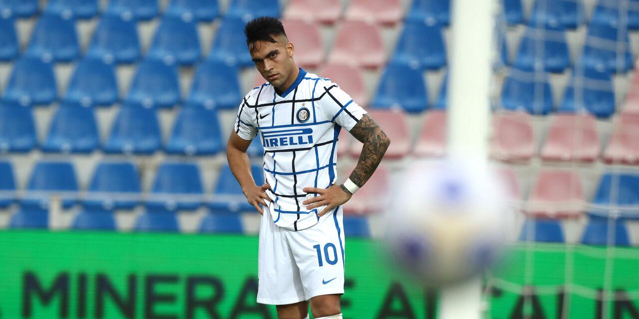 """Inter, sospiro di sollievo per Lautaro Martinez: """"Vicinissimo al Barcellona"""" (Getty Images)"""