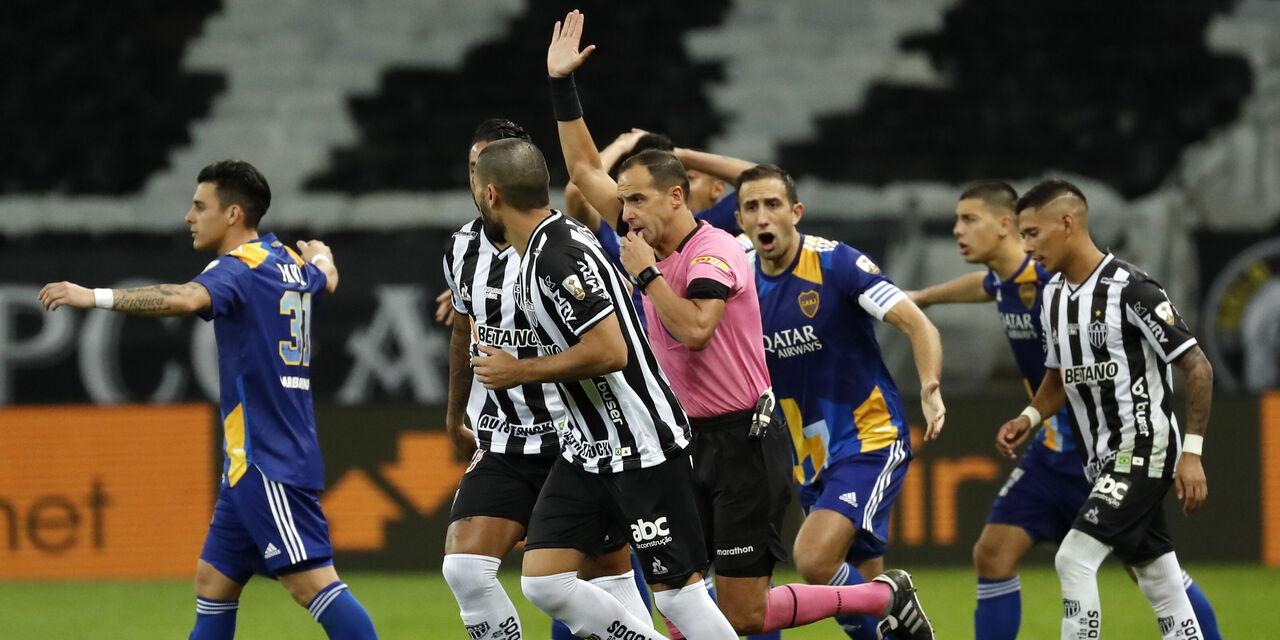 Gol annullato dal Var al Boca Juniors (Getty Images)