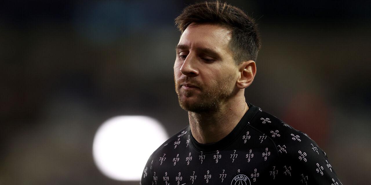 Psg, Messi sostituito: niente saluto a Pochettino (Getty Images)