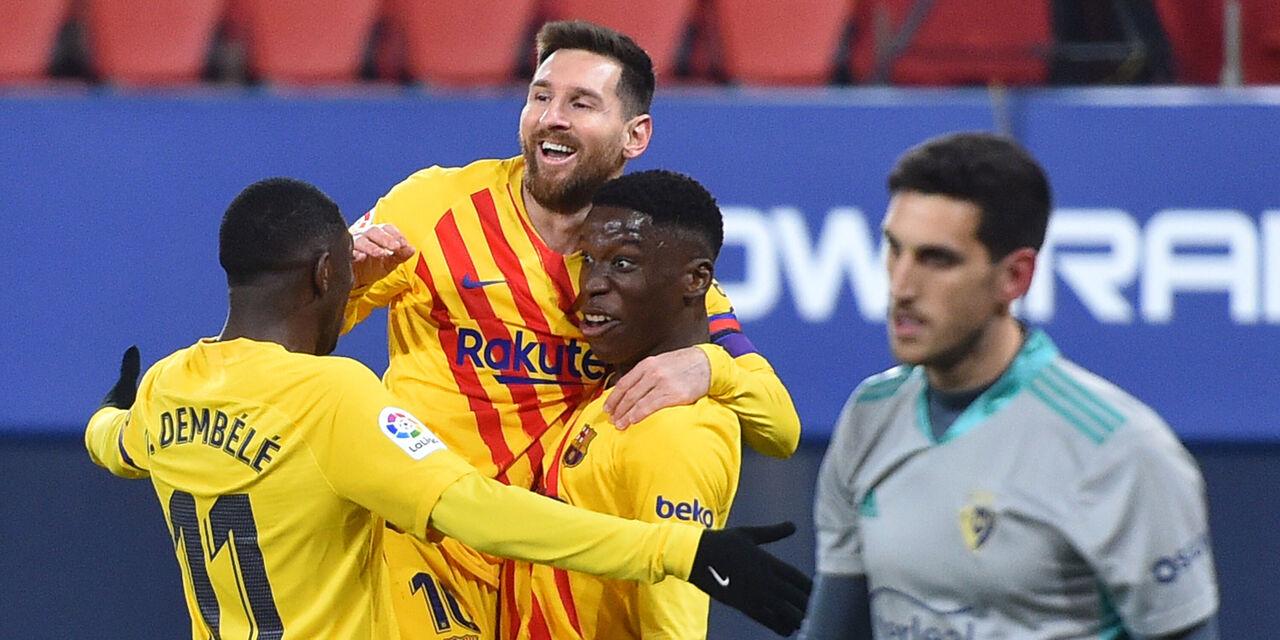 Liga, il Barcellona non sbaglia in attesa del derby di Madrid (Getty Images)
