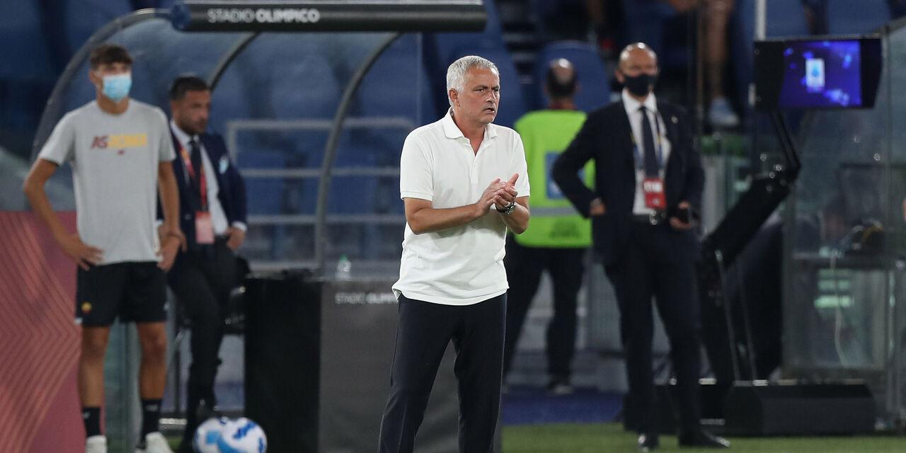"""Roma-Trabzonspor, Mourinho: """"Niente turnover. Pellegrini può fare tanti ruoli"""" (Getty Images)"""