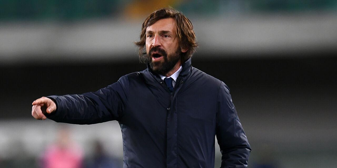 Juventus-Spezia, le parole di Andrea Pirlo (Getty Images)