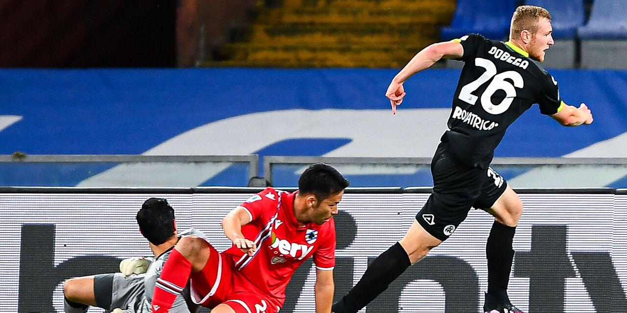 Sampdoria-Spezia 2-2: cronaca, tabellino e voti del fantacalcio