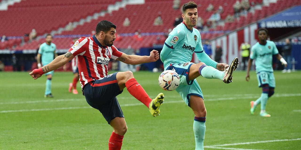 Il Levante ferma ancora l\'Atletico Madrid, Liga ancora aperta (Getty Images)