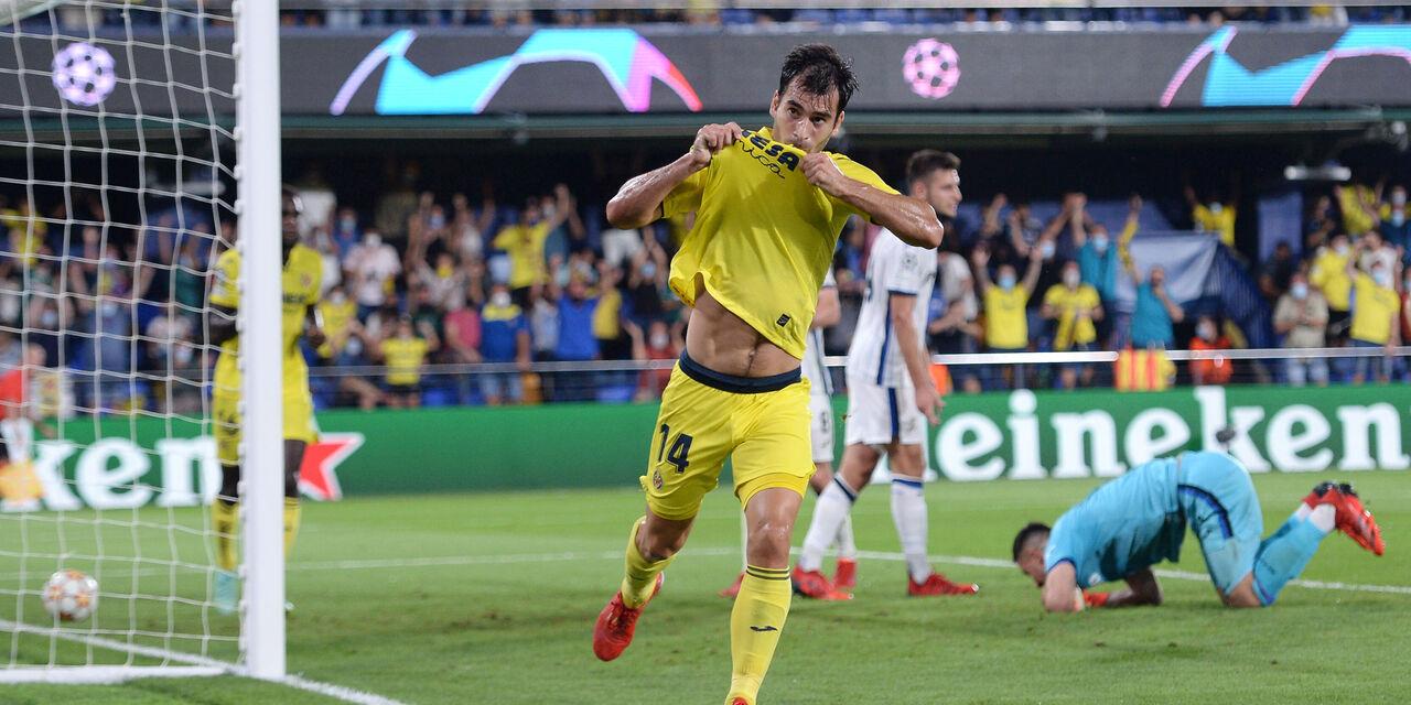Champions League, Villarreal-Atalanta 2-2: gol e highlights (Getty Images)