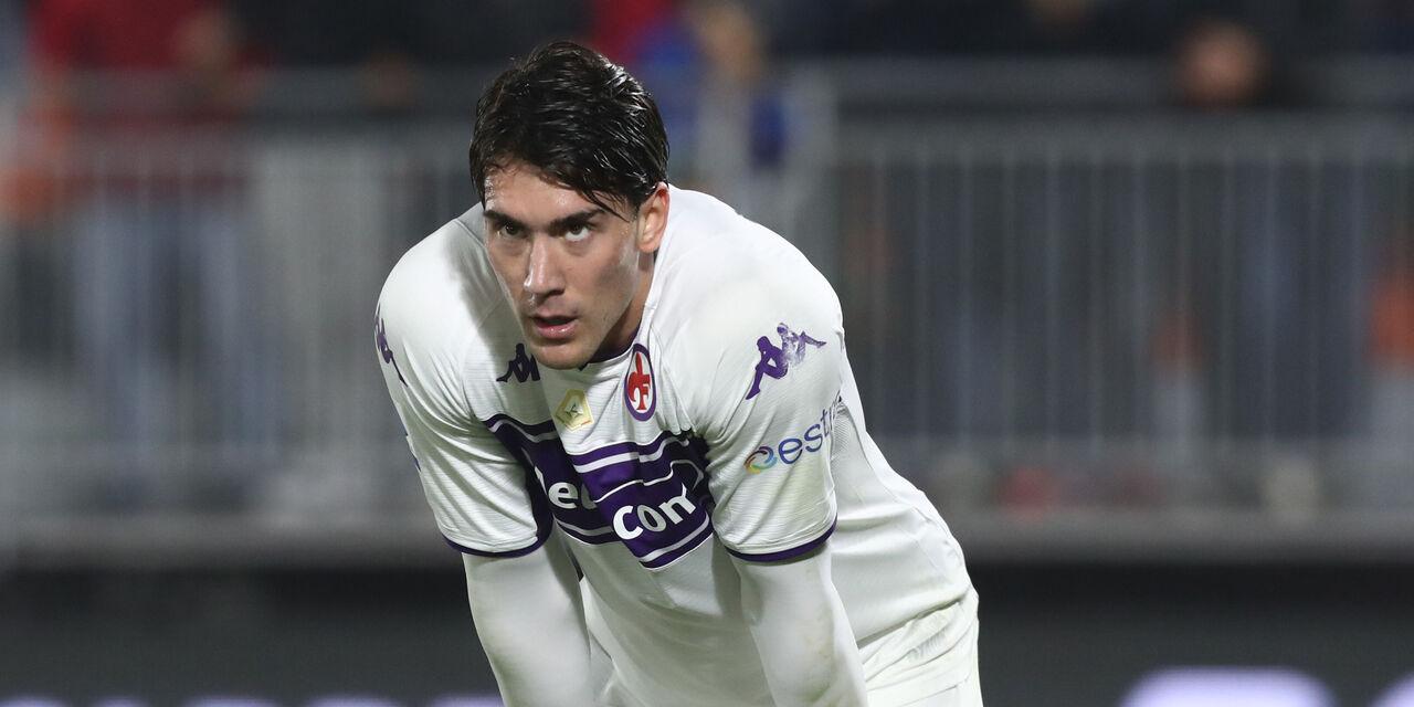 Fiorentina, per Vlahovic c\'è anche il Borussia Dortmund: dipende da Haaland (Getty Images)