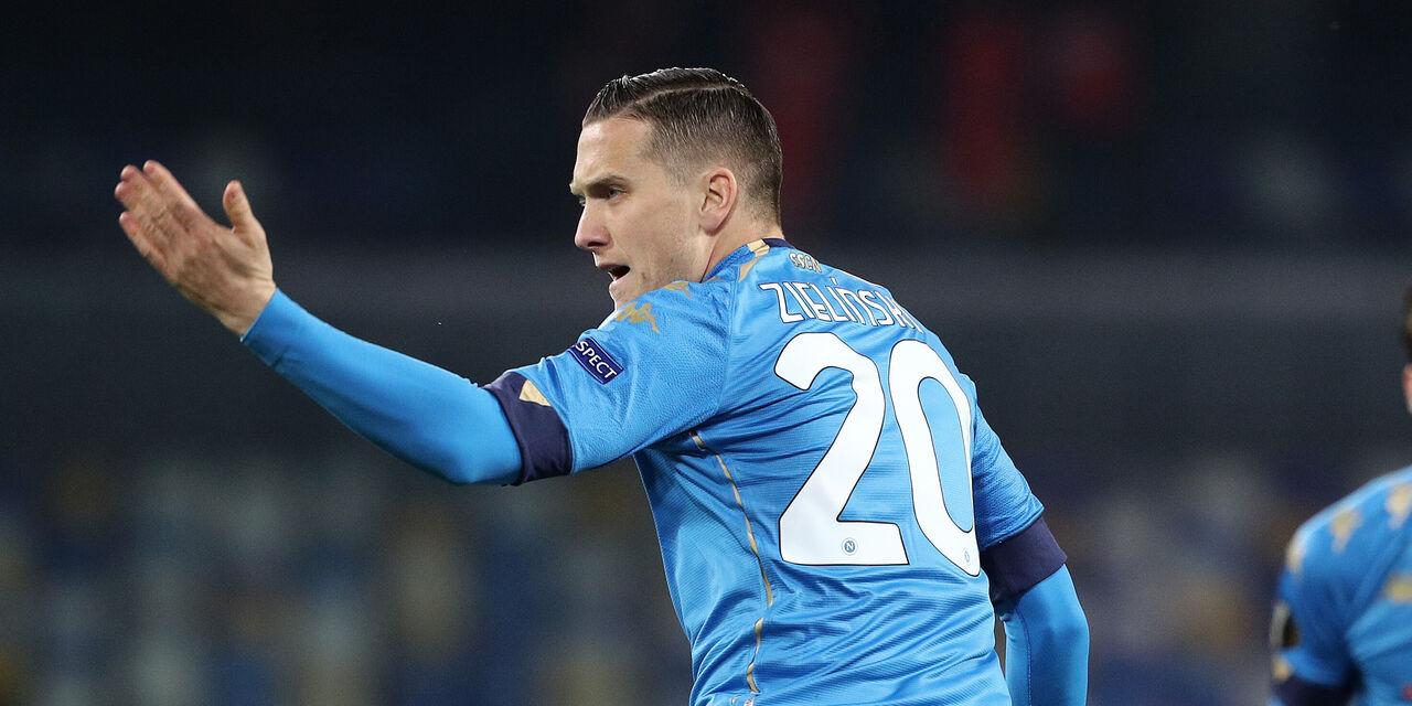 Napoli, le ultime su Zielinski: può farcela per la Juventus (Getty Images)