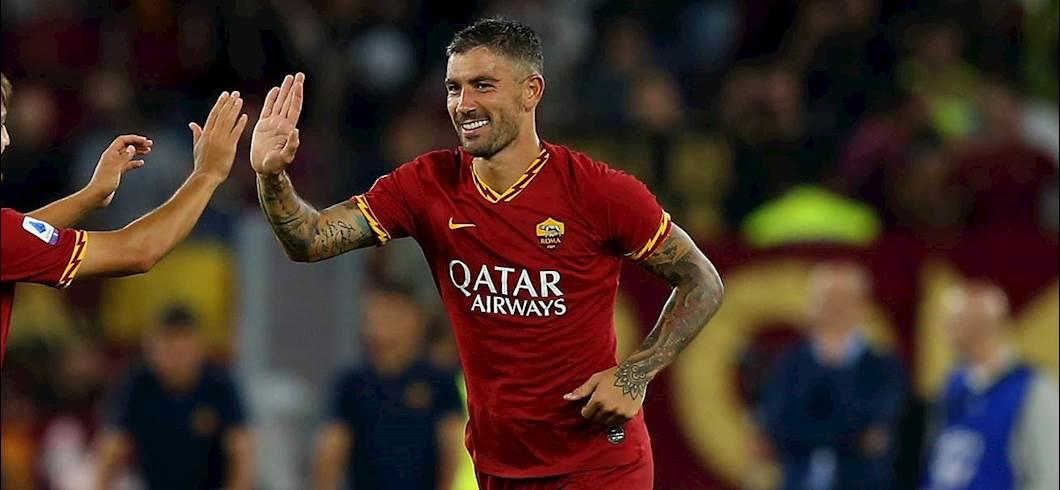 Kolarov esulta dopo un gol realizzato con la maglia della Roma (Getty Images)