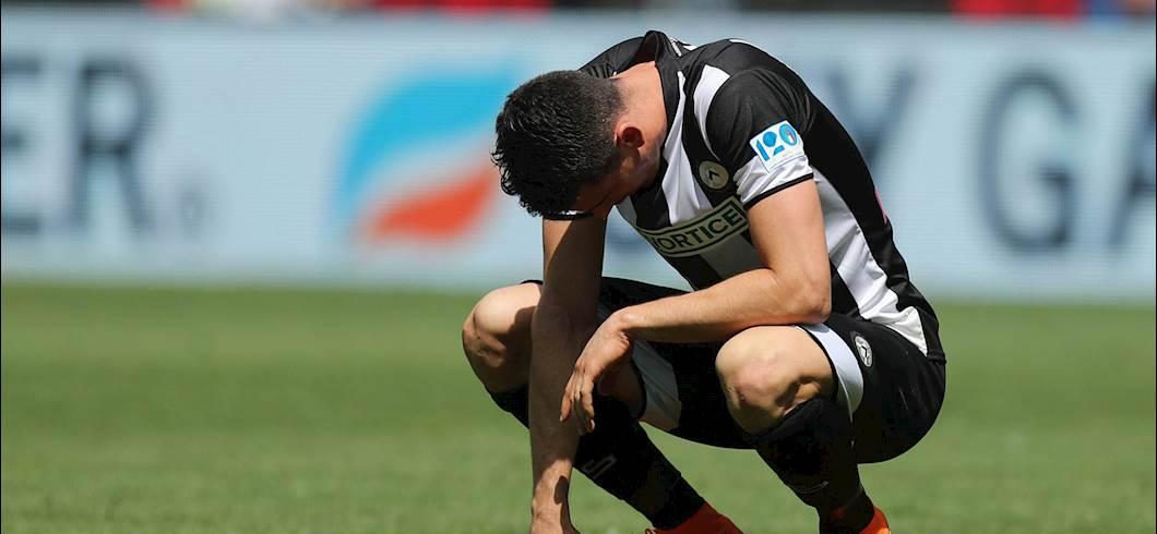Udinese-Juventus, Lasagna in tribuna: ecco cosa è successo (Getty Images)