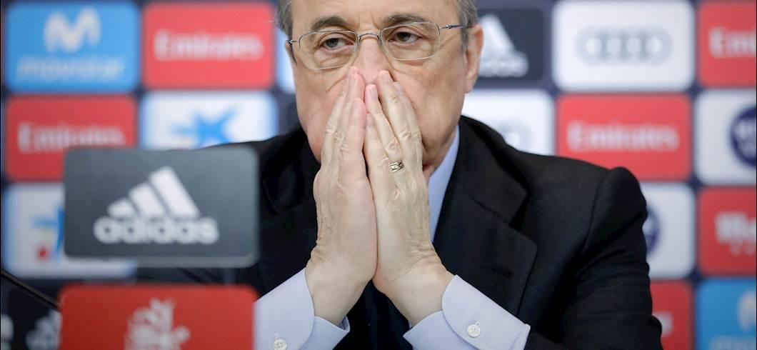"""Superlega, Florentino Perez: """"C'è bisogno di nuove formule"""" (Getty Images)"""