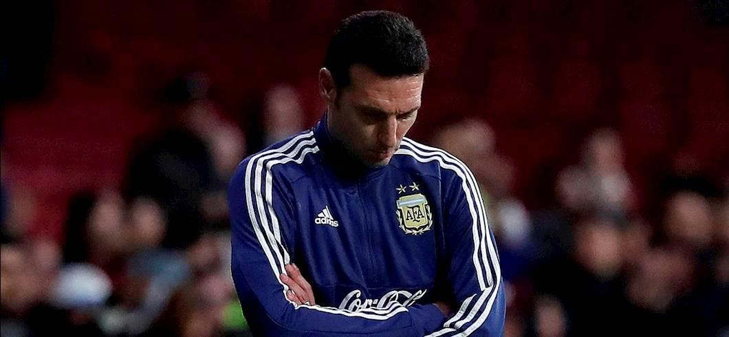 """Argentina, Scaloni: """"Lautaro in grande condizione, Dybala tornerà al top"""" (Getty Images)"""