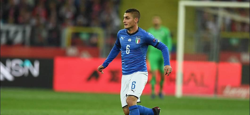 Italia, si rivede Verratti: in campo nell'amichevole col Pescara (Getty Images)