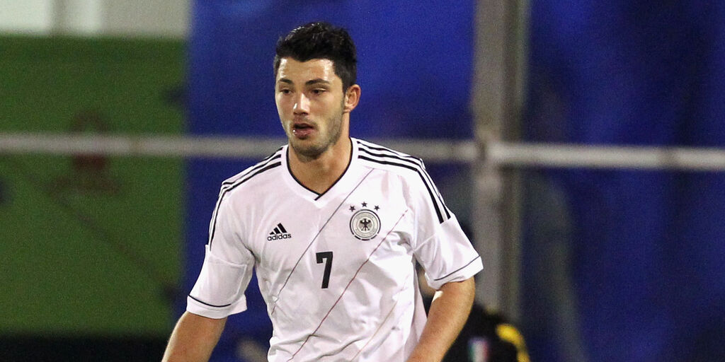 Arslan in nazionale tedesca Under 21 (Getty Images)