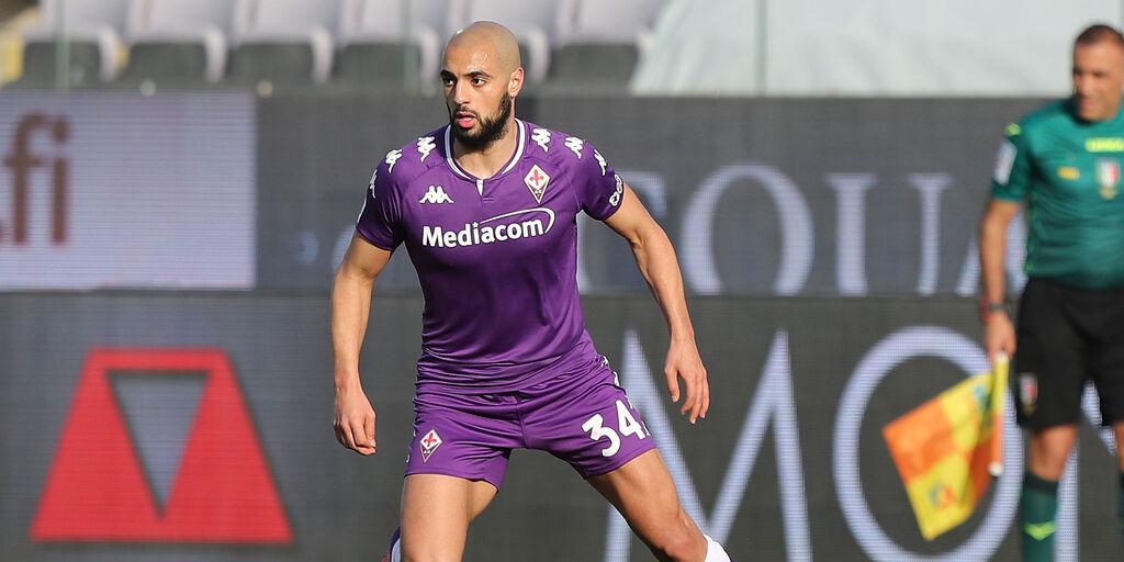 Fiorentina, problema fisico per Amrabat: le sue condizioni (Getty Images)