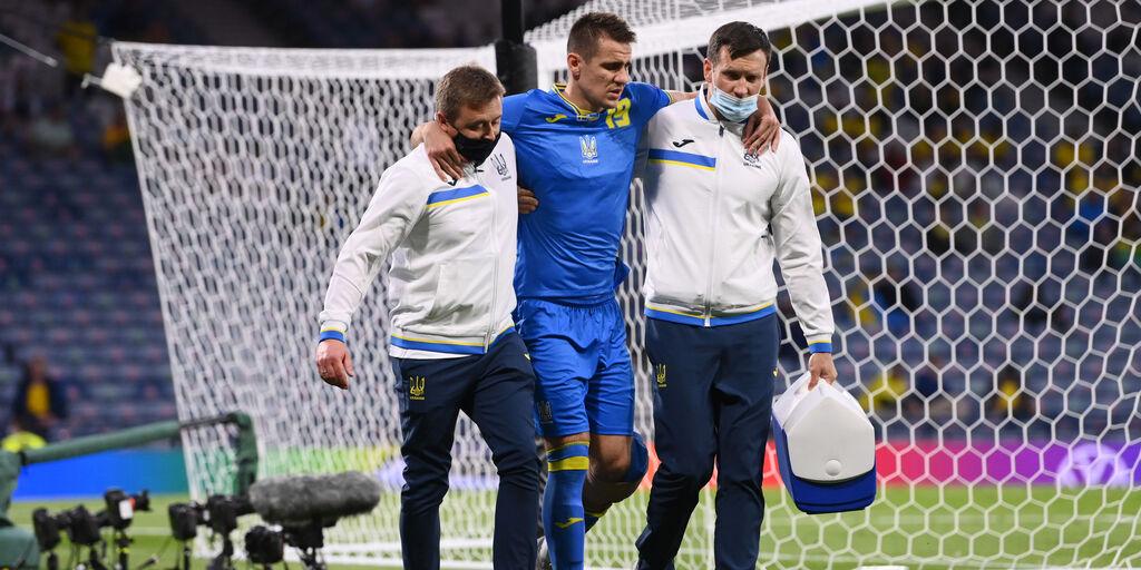 Ucraina, frattura del femore e lesione dei legamenti per Besedin (Getty Images)