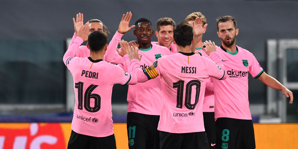 Champions League, Juventus-Barcellona 0-2: cronaca e tabellino (Getty Images)