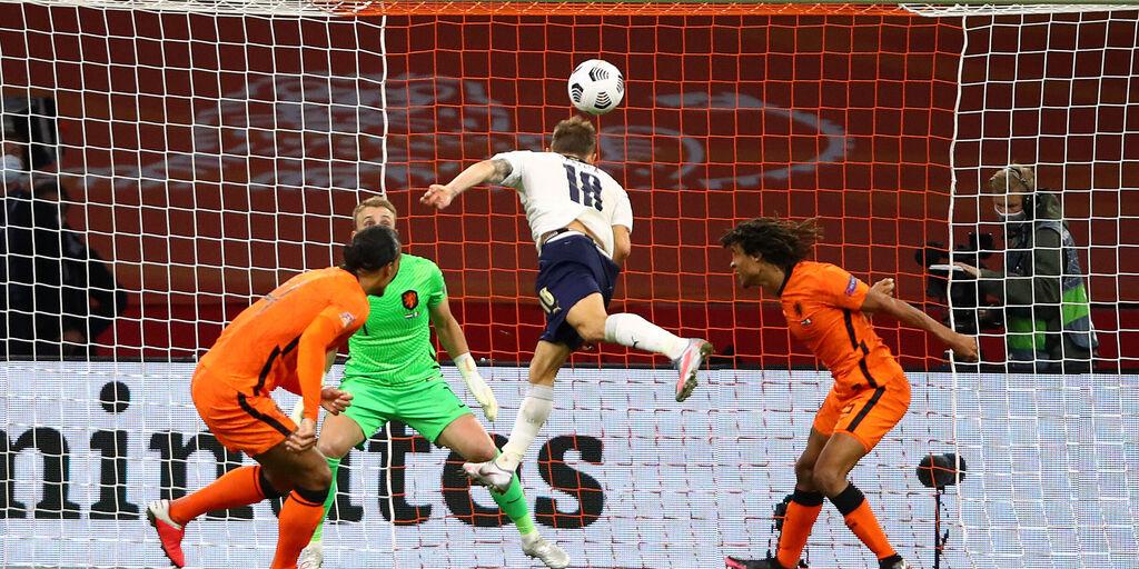 Olanda-Italia, il gol di Nicolò Barella (Getty)