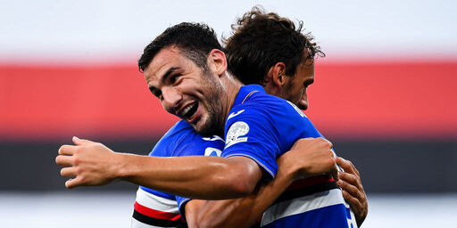 Sampdoria - Cagliari 3-0, gol e highlights (Getty Images)
