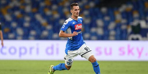 Calciomercato Napoli: Milik, fumata viola. Intesa con la Fiorentina per 30 milioni (Getty Images)