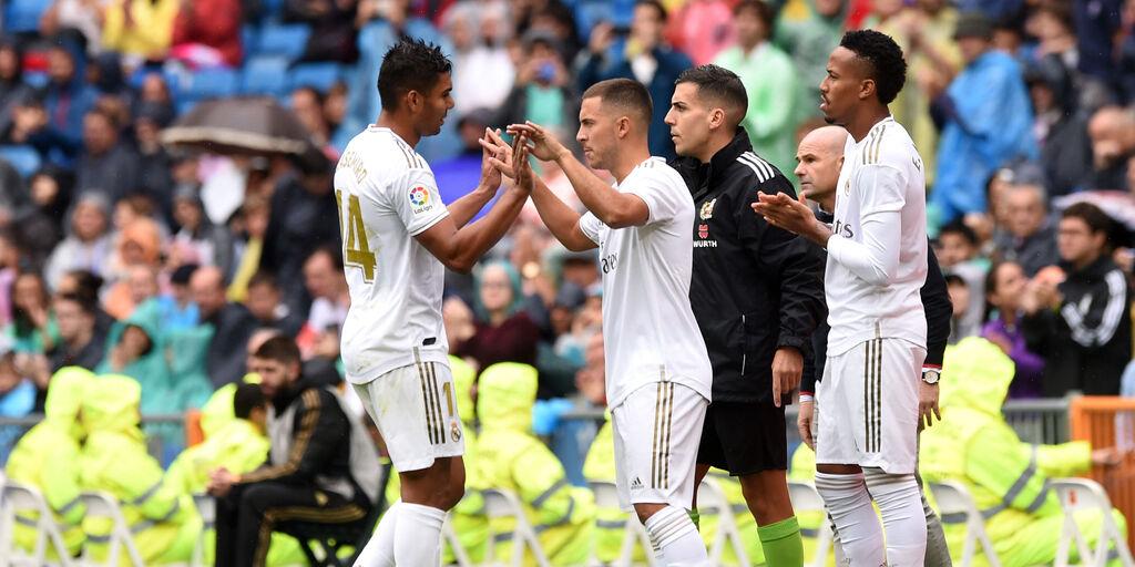 Real Madrid, lesione muscolare per Hazard: out contro l'Atalanta (Getty Images)