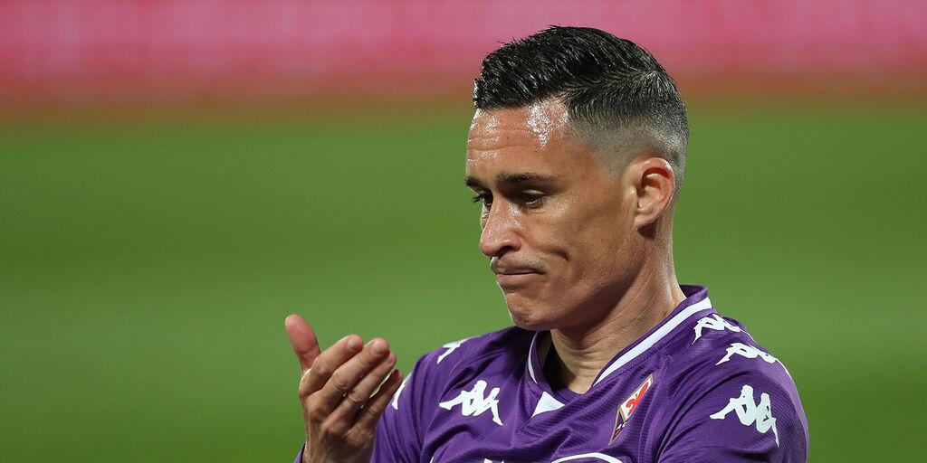 Fiorentina: problema alla caviglia sinistra per Callejon (Getty Images)