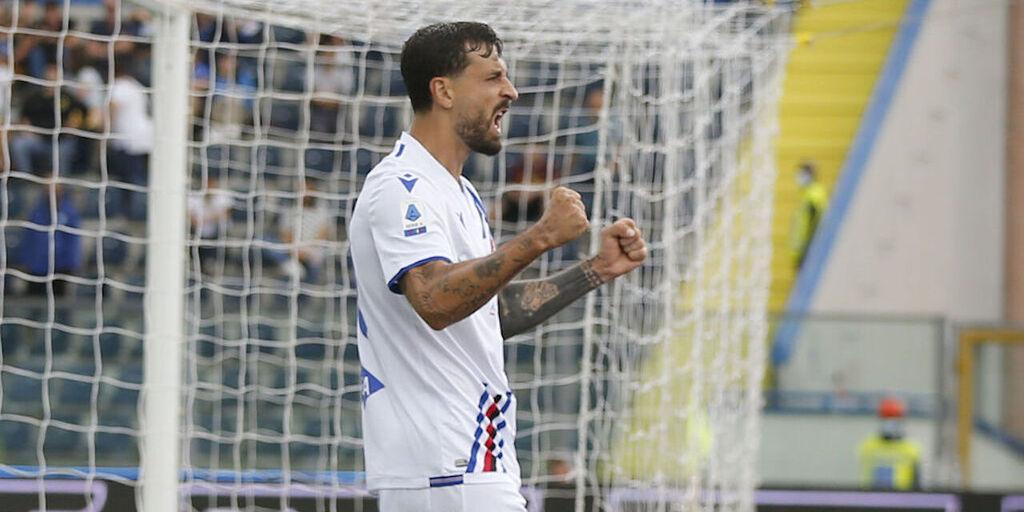 """La Sampdoria si affida a Caputo contro il Napoli: """"Momento positivo"""" (Getty Images)"""
