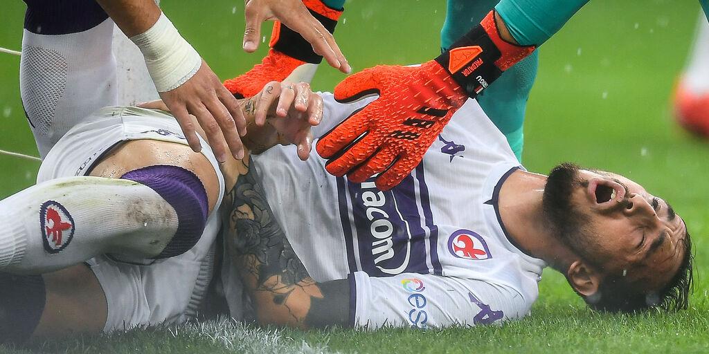 """Fiorentina, lady Castrovilli si sfoga: """"Insulti vergognosi, vuole tornare in campo presto"""" (Getty Images)"""