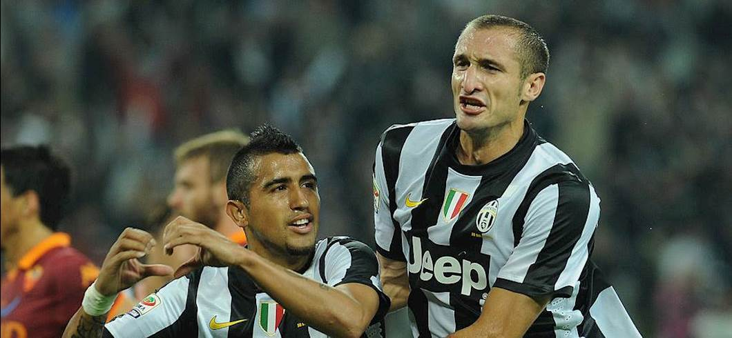 Chiellini e Vidal ai tempi della Juve (Getty Images)