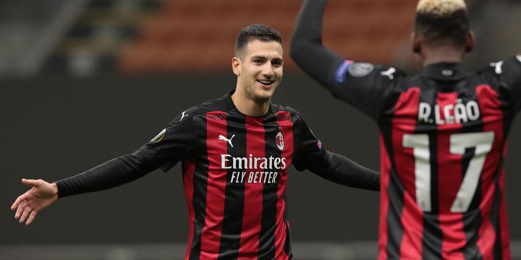 """Milan, Dalot ringrazia: """"Stagione perfetta in rossonero"""" (Getty Images)"""