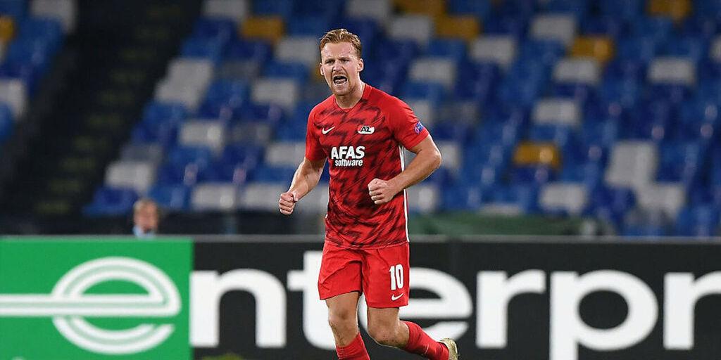 Napoli-AZ Alkmaar 0-1, cronaca e tabellino (Getty Images)