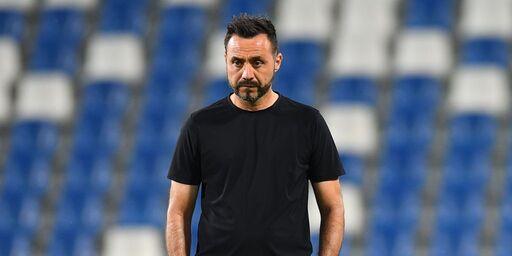 """Sassuolo, De Zerbi: """"Scudetto? L'Inter è più strutturata"""" (Getty Images)"""