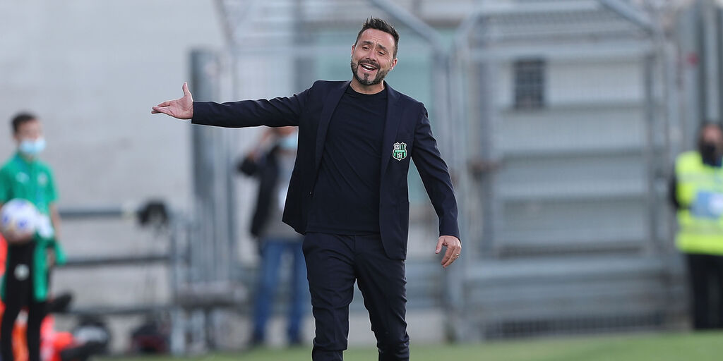 Inter-Sassuolo, la conferenza stampa di De Zerbi (Getty Images)