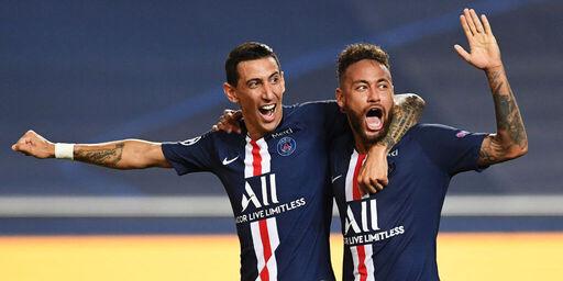 Di Maria e Neymar (Getty Images)